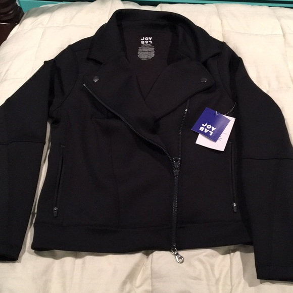 800537a9f Joy lab moto jacket NWT